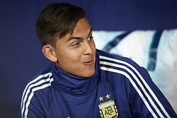 March 22, 2019 - Madrid, Madrid, Spain - Paolo Dybala of Argentina during the international friendly match between Argentina and Venezuela at Wanda Metropolitano Stadium in Madrid, Spain on March 22 2019. (Credit Image: © Jose Breton/NurPhoto via ZUMA Press)
