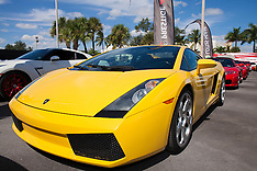 OCT 26 2013 Halloween Lamborghini Run in Miami