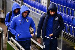 Bristol Rovers players arrives before the game - Mandatory by-line: Dougie Allward/JMP - 15/02/2020 - FOOTBALL - Memorial Stadium - Bristol, England - Bristol Rovers v Blackpool - Sky Bet League One