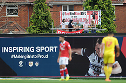 East End Shed - Photo mandatory by-line: Dougie Allward/JMP - Mobile: 07966 386802 - 27/09/2014 - SPORT - Football - Bristol - Ashton Gate - Bristol City v MK Dons - Sky Bet League One