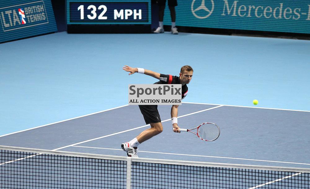 Ivan Dodig & Marcelo Melo v Mariusz Fyrstenberg & Marcin Matkowski Doubles match during the Barclays ATP World Tour Finals London on 7th November 2013 © Phil Duncan | SportPix.org.uk