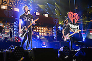 5 Seconds of Summer performing at the iHeartRadio Jingle Ball 2014, hosted by Z100 New York at Madison Square Garden on December 12, 2014 in New York City.