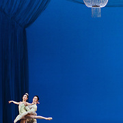 Misa Kuranaga and Jeffrey Cirio of Boston Ballet at the Boston Opera House for George Balanchine's 'Theme and Variations'