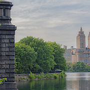 The Jacqueline Kennedy Onassis Reservoir in Central Park, NYC.