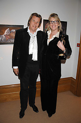 THEO & LOUISE FENNELL at a private view of Paul Simonon's recent paintings held at Thomas Williams Fine Art, 22 Old Bond Street, London on 15th April 2008.<br /><br />NON EXCLUSIVE - WORLD RIGHTS