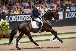 Van Lierop Robin, NED, Zum Gluck RS2 Old<br /> Ermelo - Weltmeisterschaft Junge Dressurpferde 2019<br /> Finale für 6 jährige Dressurpferde<br /> Final for 6 years dressage horses<br /> 04. August 2019<br /> © www.sportfotos-lafrentz.de/Dirk Caremans