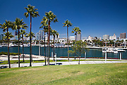 Rainbow Harbor And Marina Long Beach