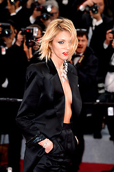 Anja Rubik attending the Pain and Glory premiere, held at the Grand Theatre Lumiere during the 72nd Cannes Film Festival