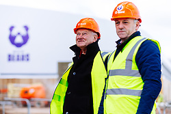 Bristol Bears owner Steve Lansdown, Chairman Chris Booy and CEO Mark Tainton visit the new Bears Training ground - Rogan/JMP - 26/02/2020 - RUGBY UNION - Beggar Bush Lane - Bristol, England.