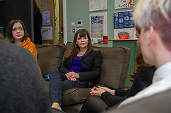 Pictured: Yoiuth advisor, Vertity Siagen and Claire Haughey<br />