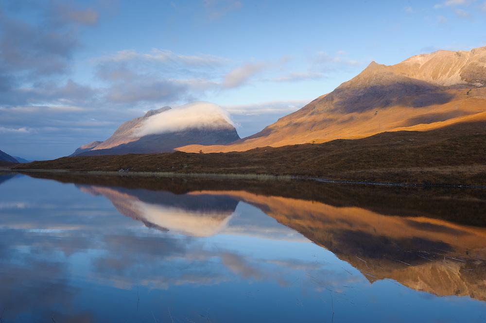 Loch Clair at dawn, Torridon, Scotland