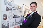 Zoom Rockman, 15, an ambassador for the charity and established cartoonist, with hios own magazine as well as being a contributor to the Beano - It's Our World Auction in support of The Big Draw and Jupiter Artland Foundation, Chrisites, London, UK - Over 40 leading artists including David Hockney, Sir Antony Gormley, David Nash, Sir Peter Blake, Yinka Shonibare, Sir Quentin Blake, Emily Young and Maggi Hambling have committed artworks to the be sold at on 10 March 2016. The Auction is the culmination of a mass participation environmental arts project, promoting sustainability for future generations through art. Money raised will support The Big Draw, an arts education charity that works across the UK to promote visual