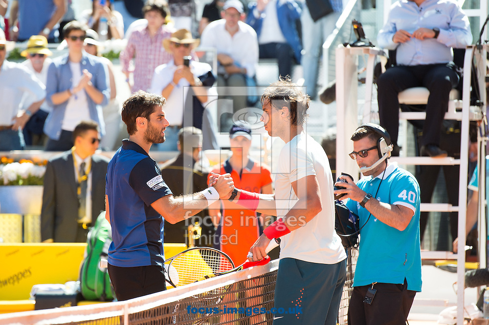 Picture by Sam Wordley/Focus Images Ltd +34 605 350 422.11/05/2013.Rafa Nadal pictured during Madrid Open Day Eight at Manzanares Park Tennis Centre, Madrid.
