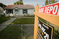 JEROME A. POLLOS/Press ..Single-family home sales were done 29 percent in Kootenai County compared to last year's sales figures.
