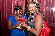 TANEISHA ARMSTRONG; KATHLEEN LORD Miss Great Britain - anniversary event. The Red Room, Les Ambassadeurs Club, 5 HAMILTON Place, London W1 18 August 2010. -DO NOT ARCHIVE-© Copyright Photograph by Dafydd Jones. 248 Clapham Rd. London SW9 0PZ. Tel 0207 820 0771. www.dafjones.com.
