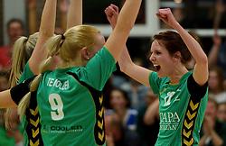 12-04-2014 NED: Finale vv Alterno - Sliedrecht Sport, Apeldoorn<br /> Alterno pakt het kampioenschap door Sliedrecht voor de derde maal te verslaan / Marlou Sommer
