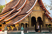 Wat Xieng Thong, Buddhist Temple in Luang Prabang, Laos.
