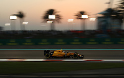 Renault's Jolyon Palmer during the Abu Dhabi Grand Prix at the Yas Marina Circuit, Abu Dhabi.