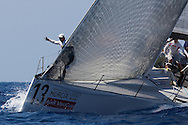Synergy during the practice race of the AUDI Medcup in Cartagena