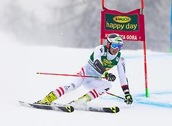 Dominik Raschner of Austria during 1st run of Men's Giant Slalom race of FIS Alpine Ski World Cup 57th Vitranc Cup 2018, on 3.3.2018 in Podkoren, Kranjska gora, Slovenia. Photo by Urban Meglič / Sportida
