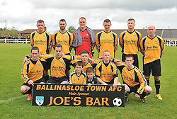 Connaught Cup Champions Ballinasloe Town FC.<br /> Pic Conor McKeown