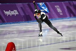 February 18, 2018 - Gangneung, South Korea -  ARISA GO of Japan during Speed Skating: Ladies' 500m at Gangneung Oval at the 2018 Pyeongchang Winter Olympic Games. (Credit Image: © Scott Mc Kiernan via ZUMA Wire)