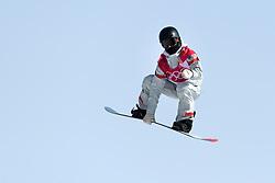 February 19, 2018 - Pyeongchang, SOUTH KOREA - 180219 Julia Marino of USA competes in the Women's Big Air Qualification during day ten of the 2018 Winter Olympics on February 19, 2018 in Pyeongchang..Photo: Carl Sandin / BILDBYRN / kod CS / 57999_306 (Credit Image: © Carl Sandin/Bildbyran via ZUMA Press)