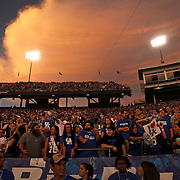 Sept. 11, 2010 - Lexington, Kentucky, USA -  University of Kentucky students cheer for their team as the University of Kentucky played Western Kentucky University at Commonwealth Stadium. Kentucky won the game, 63-28. (Credit image: © David Stephenson/ZUMA Press)
