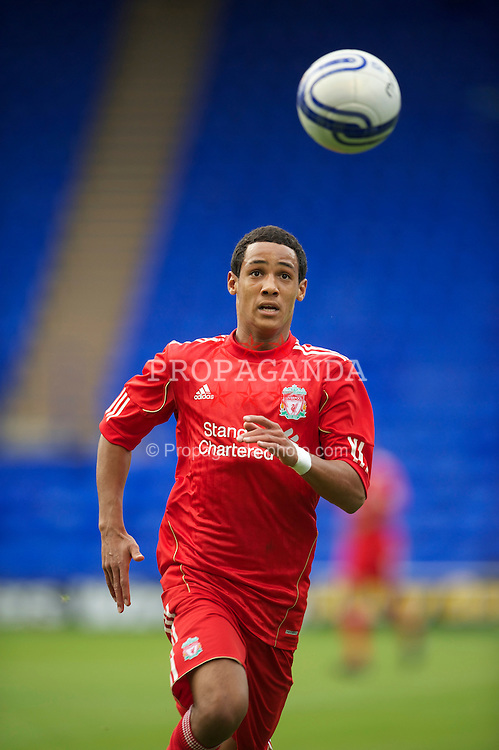 BIRKENHEAD, ENGLAND - Tuesday, August 3, 2010: Liverpool's Thomas Ince in action against Tranmere Rovers during a preseason friendly match at Prenton Park. (Pic by: David Rawcliffe/Propaganda)