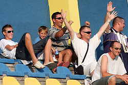 Spectators  at 2nd Round of PrvaLiga Telekom Slovenije between NK Koper vs NK Hit Gorica, on July 26, 2008, in SRC Bonifika stadium in Koper. Gorica won the mach 3:1. (Photo by Vid Ponikvar / Sportal Images)
