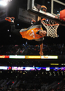 Feb. 4, 2011; Phoenix, AZ, USA; Phoenix Suns Sol Patrol performs during the fourth quarter while playing against the Oklahoma City Thunder at the US Airways Center. The Thunder defeated the Suns 111-107. Mandatory Credit: Jennifer Stewart-US PRESSWIRE.