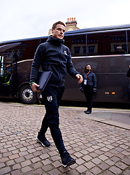 LONDON, ENGLAND - Sunday, March 17, 2019: Fulham's caretaker manager Scott Parker arrives before the FA Premier League match between Fulham FC and Liverpool FC at Craven Cottage. (Pic by David Rawcliffe/Propaganda)