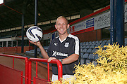 Nicky Low models the new Dundee FC home kit - Dundee FC kit 2015-16 launch<br /> <br />  - &copy; David Young - www.davidyoungphoto.co.uk - email: davidyoungphoto@gmail.com