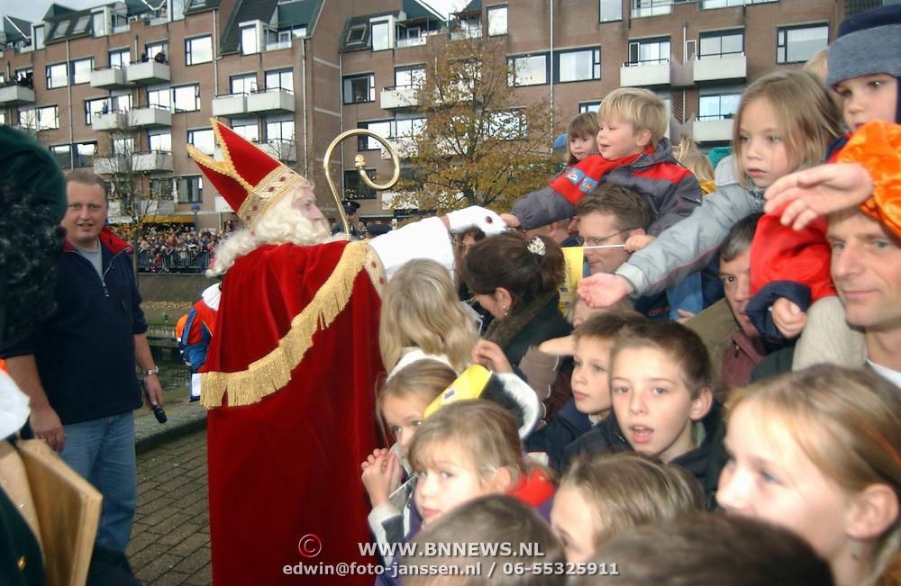 Aankomst 2001 Sinterklaas Huizen