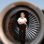 Pilot Susan Karkman, Tradewinds A300 Airplane