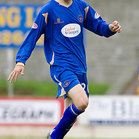 St Johnstone FC Season 2009-10<br /> Murray Davidson<br /> Picture by Graeme Hart.<br /> Copyright Perthshire Picture Agency<br /> Tel: 01738 623350  Mobile: 07990 594431