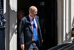 © Licensed to London News Pictures. 26/06/2018. London, UK. Transport Secretary Chris Grayling leaves 10 Downing Street after the Cabinet meeting. Photo credit: Rob Pinney/LNP