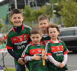 A Day out watchin Mayo at McHale park were Brian, Alex, Danny and Carly Egan from Kilmovee.<br /> Pic Conor McKeown