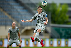 Enrik Ostrc of Olimpija during football match between NK Domzale and NK Olimpija in 29th Round of Prva liga Telekom Slovenije 2019/20, on June 21, 2020 in Sports park, Domzale, Slovenia. Photo by Vid Ponikvar / Sportida