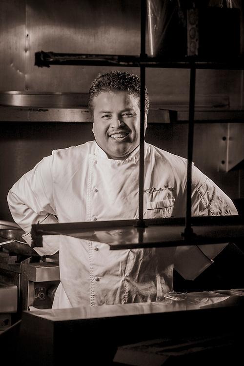 Chef Martin Perez at South Beach's Osteria Del Teatro