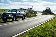 Highway One, Californie, USA.