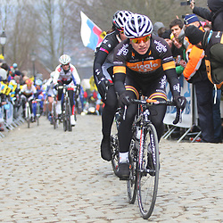 Sportfoto archief 2013<br /> Tour of Flanders women Oude Kwaremont Giorgia Bronzini