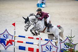 LEPREVOST Penelope (FRA), Casual Z<br /> Genf - CHI Rolex Grand Slam 2018<br /> Preis der Kommune Geneve<br /> 2-Phasen Springen<br /> 06. Dezember 2018<br /> © www.sportfotos-lafrentz.de/Stefan Lafrentz
