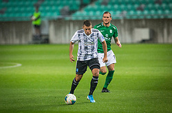 7# Menalo Luka of NK Olimpija during the match of 7. Round of Slovenian National first league between NK Olimpija Ljubljana and NK Mura on 24.8.2019 in Stadion Stozice, Ljubljana, Slovenia. Photo by Urban Meglič / Sportida