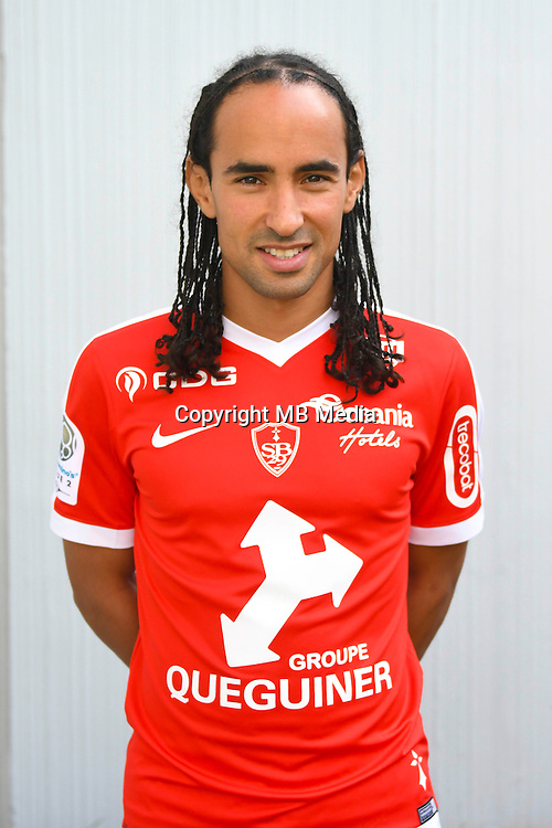 Bruno Grougi of Brest during the Photo shooting of Stade Brestois in Brest on september 22th 2016<br /> Photo : Philippe Le Brech / Icon Sport