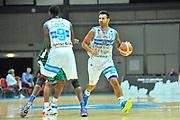 DESCRIZIONE : Torneo Internazionale Geovillage Olbia Dinamo Banco di Sardegna Sassari - Darussafaka Bogus<br /> GIOCATORE : Brian Sacchetti Shane Lawal<br /> CATEGORIA : Palleggio Blocco<br /> SQUADRA : Dinamo Banco di Sardegna Sassari<br /> EVENTO : Torneo Internazionale Geovillage Olbia<br /> GARA : Dinamo Banco di Sardegna Sassari - Darussafaka Bogus<br /> DATA : 06/09/2014<br /> SPORT : Pallacanestro <br /> AUTORE : Agenzia Ciamillo-Castoria / Luigi Canu<br /> Galleria : Precampionato 2014/2015<br /> Fotonotizia : Torneo Internazionale Geovillage Olbia Dinamo Banco di Sardegna Sassari - Darussafaka Bogus<br /> Predefinita :