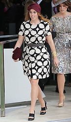 Princess Beatrice at the Epsom Derby in Epsom, England, Saturday 1st June 2013 Picture by Stephen Lock / i-Images