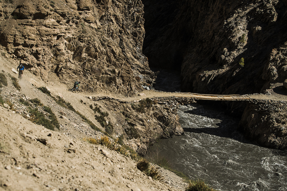 one of only three bridges we encountered in over 20 river crossings during our 12 day expedition.