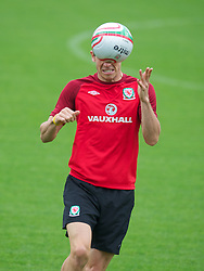 CARDIFF, WALES - Monday, September 3, 2012: Wales' Gareth Bale during a training session at the Vale of Glamorgan ahead of the Brazil 2014 FIFA World Cup Qualifying Group A match against Belgium. (Pic by David Rawcliffe/Propaganda)