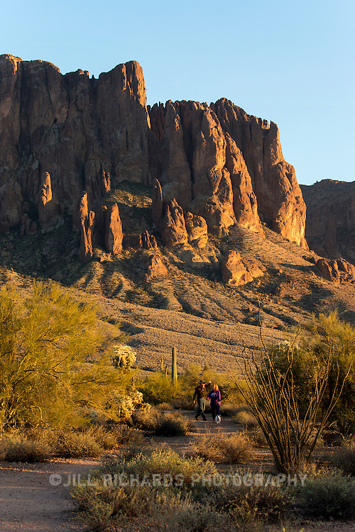 Tim Kristof, park manager for Lost Dutchman State Park, offers tips on safely hiking one of greater Phoenix's many trails.